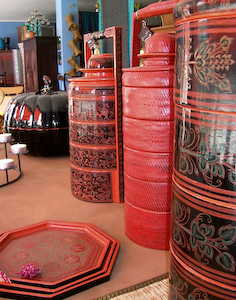Lacquerware from Myanmar